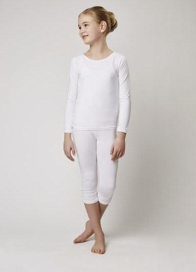 Weise Langarm Shirt erhältlich in weiß und Ecru bei KommunionOnline.de