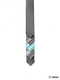 Krawatte slim (Weise)